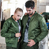 2017 High Quality Ma1 Army Green Tactical Military Varsity Flight Windjack Pilot Us Air Force Bomber