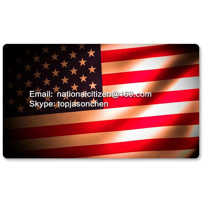 Флаг страны играть Коврики S-Соединенные Штаты Америки-Настольная игра Коврики Таблица Коврики Мышь Pad 60x35 см