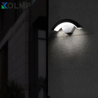 Modern Fashion Design Luxury Outdoor Wall Sconce Garden Exterior Lighting Wall Mounted Lamps Waterproof Lumiere Exterieur