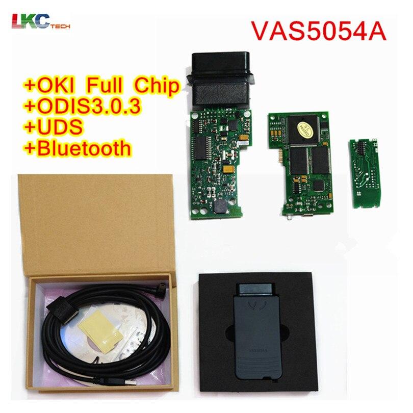 Meilleur Qualité VAS5054A Bluetooth VAS 5054A Plein Puce ODIS V3.0.3/4.13/v4.2.3 Soutien Protocole Uds OKI Puce