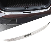 Foot Pedal Trunk Rear Panels Exterior Excent Automovil Auto Chromium Protecter Decoration Car Styling 17 18 19 FOR Volvo S90