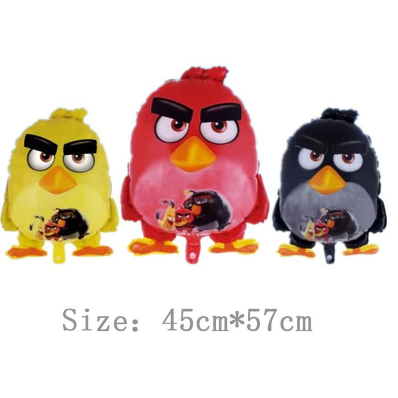 3pcs/lot Cartoon Birds Foil Balloons Helium Balloon Children inflatable toys air