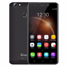 "Gretel A6 4G Mobile Phone 5.5"" Android6.0 MTK6737 Quad Core 2GB RAM 16GB ROM Smartphone 3000mah Fingerprint ID 13.0MP Cellphone"