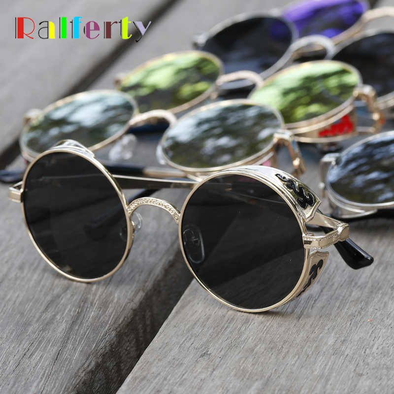 744a638e317 Retro Steampunk Sunglasses For Women Men
