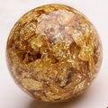 20 шт./лот 10 мм диаметр DIY шамбалы браслет ожерелье аксессуары золотой фольги широкий бусины