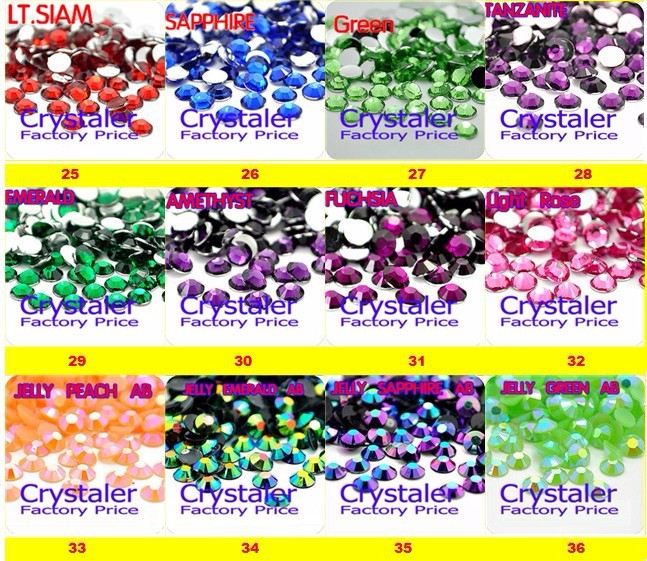Transparent Crystal clear AB Color Facets Flat Back Resin Rhinestone 2mm,3mm,4mm,5mm,6mm Nail Art Gems Decoration
