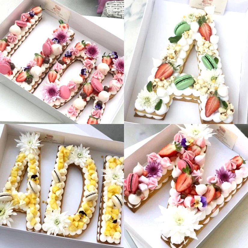 Plastic 26 Pcs Set 16 Inch Letter Cake Muffin Mold Birthday Design Bakeware Pastry Decorating Tools In Molds From Home Garden On Aliexpress