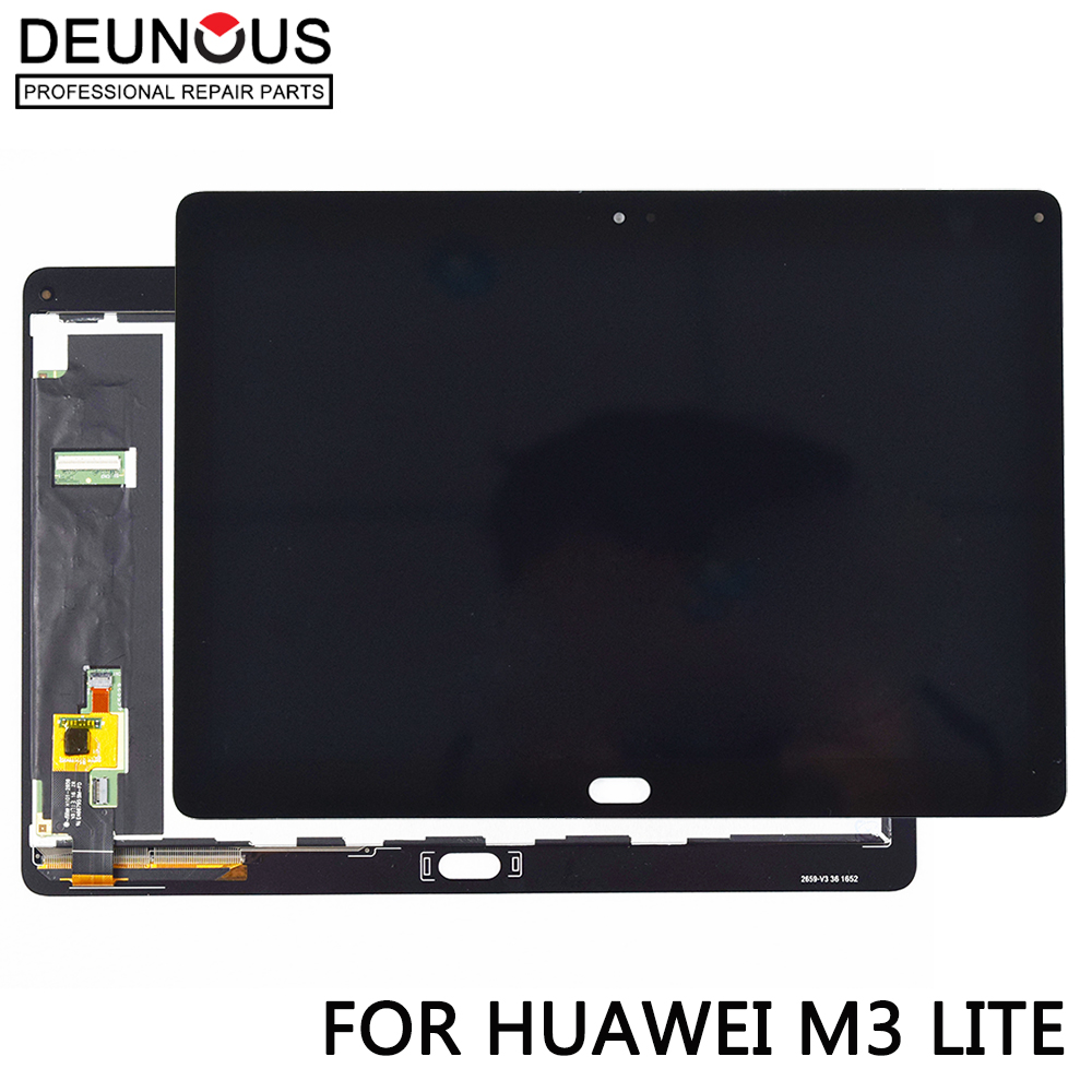 New 10.1 For Huawei Mediapad M3 Lite 10 BAH-AL00 BAH-W09 BAH-L09 LCD display touch screen digitizer assembly