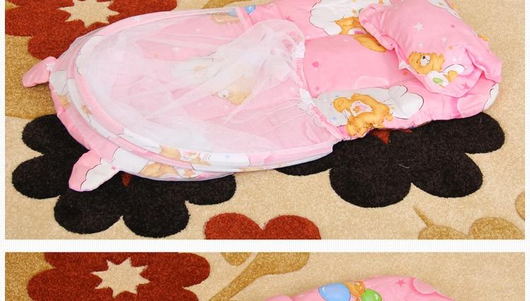 Draagbare Babybedje Klamboe Tent Functie Cradle Bed Zuigeling - Beddegoed - Foto 3