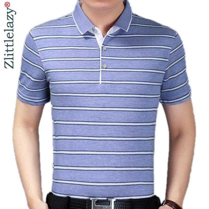 Hilfreich Sommer Polo Shirt Männer Kurzarm Polos Shirts Gestreiften Slim Fit Herren Pol Kleidung Kleid Bodybuilding Streetwear Polo 8761 Babykleidung Mädchen