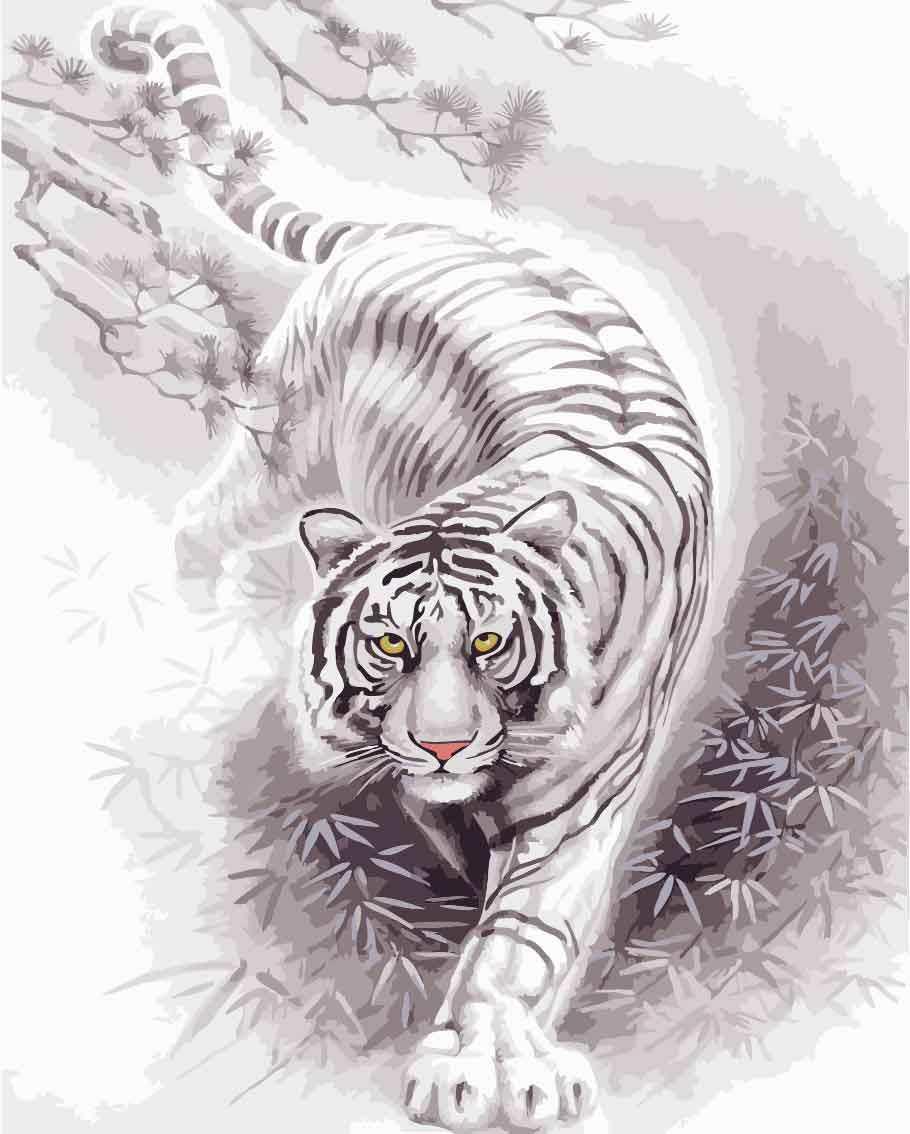 Online Shop Mahuaf J012 Buddha Lukisan Cat Air Pewarna Oleh Angka