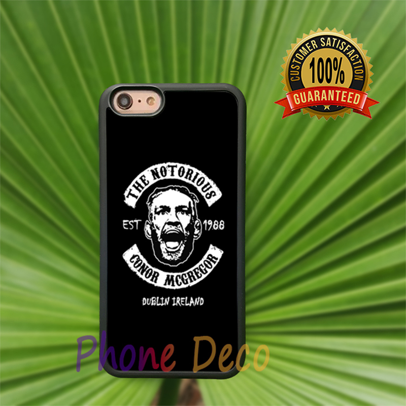 the notorious conor mcgregor Fashion Cell Phone Cases For Iphone 7 7 plus 6 6s 6plus 6splus 5 5s 5c 4 4s H1554
