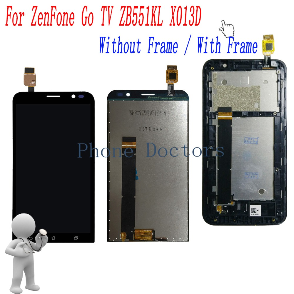 5.5 inch Full LCD DIsplay+Touch Screen Digitizer Assembly For Asus ZenFone Go TV ZB551KL X013D X013DA X013DB X013DC