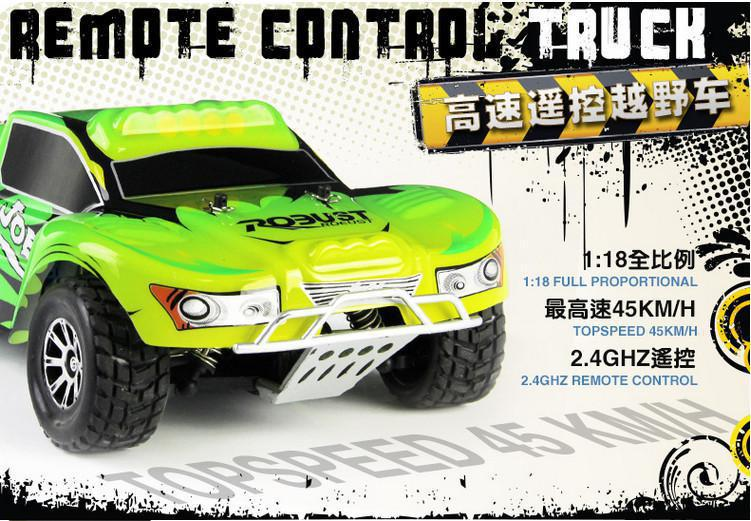 2014 New remote control toys  A969 RC Car 1:18 2.4G Remote Control Car 4WD off road rc drift ca carro controle remoto rc drift car new environmental abs rc emu car 1 45 proportion dual front color kids toys with package