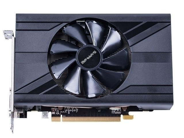 Used.Sapphire RX470D 4G GDDR5  PCI Express 3.0 computer ITX  graphics card HDMI DP DVI