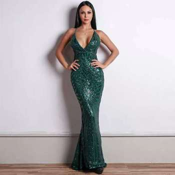 2019 Hot Selling spaghetti Sequins decorati Long Evening Dresses Party Gowns Custom Made Size 4 6 8 10 12 14 16 18+ E83