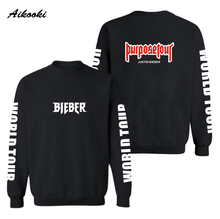 Justin Bieber Purpose Tour Hoodies Sweatshirts Couples Street Wear West Men's/Women's Hoodies and Sweatshirts Fashion Clothes