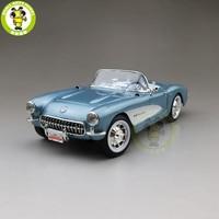 1/18 1957 Chevrolet CORVETTE Road Signature Diecast Model Car Toys Boys Girls Gift