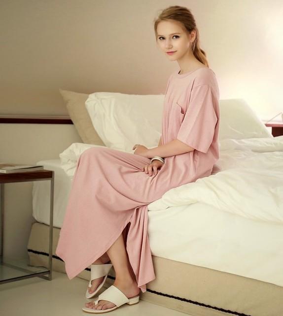 2017 Novo estilo verão Camisola Camisola pijama Das Senhoras Sleepwear nightwear Mulheres AZ391