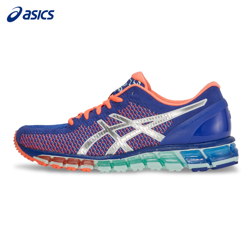 Original ASICS Women Shoes GEL-QUANTUM 360 CM Breathable Cushion Running Shoes Light Weight Sports Shoes Sneakers Leisure