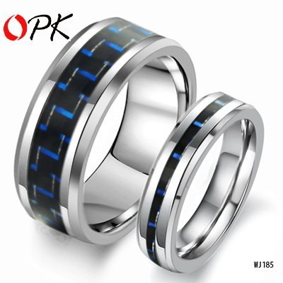 OPK JEWELRY Tungsten Steel Ring Fashin Couple Jewelry NEW Arrivel HOT Fashion jewelry   185