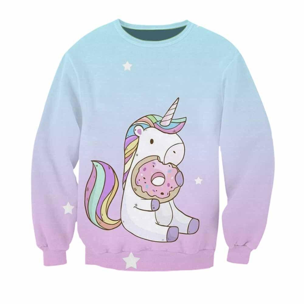 Mode Kawaii Sweat À Capuche homme femme harajuku hoodie 3D imprimé cheval Mignon hodie Sweat adolescents Pour Filles Hodies vêtements