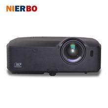 NIERBO 1080 P Proyector Full HD 1920*1080 P Proyector Data Show Proyector para la Educación de Negocios de La Escuela Iglesia Durante el Día 280 w bombilla