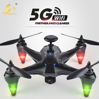 198GPS 5G Wifi 500 Meter Pro FPV Brushless W/1080P HD Camera GPS RTF Follow Me Mode Quadcopter Helicopter RC Drone 6 channels