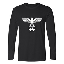 LUCKYFRIDAYF Rammstein Long Sleeve T Shirt Autumnr Plus Size Rock Metal Music T-Shirt Teeshirt Rammstein Clothes For Men Women