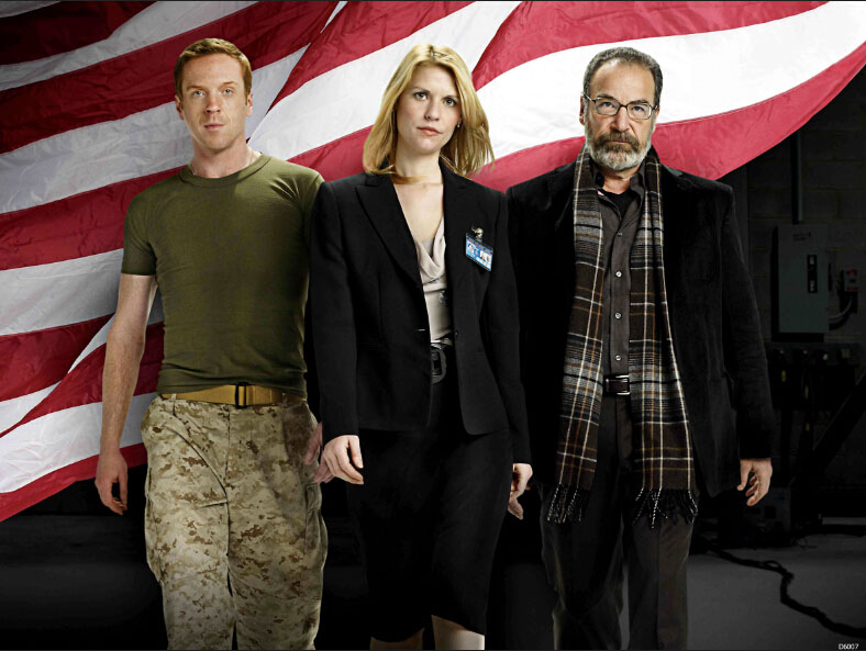 Homeland Claire Danes Mandy Patinkin Damian Lewis TV Series Art Huge Print Poster TXHOME D6007