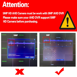 Image 3 - HD אבטחת מצלמה חיצוני עמיד למים 5.0MP AHD TVI CVI אנלוגי טלוויזיה במעגל סגור מעקב מצלמה Sony IMX335 Varifocal אינפרא אדום Bullet
