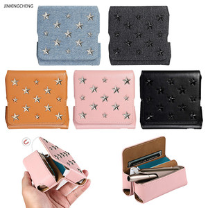 Image 1 - JINXINGCHENG Star Style Case for Iqos3.0 Flip Wallet Leather Case Bag for Iqos 3.0 Cover Magnet Pouch Protective Accessories