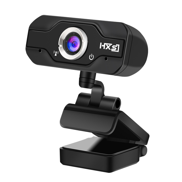 HXSJ S50 USB Web Camera 720P HD 1MP Computer Camera Webcams Built-in Sound-absorbing Microphone 1280 * 720 Dynamic Resolution 3