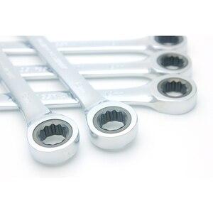 Image 5 - Ratsche Kombination Wrench Set Drehmoment Getriebe Spanner Schraubenschlüssel Set und EINE Reihe von Schlüssel Hand Werkzeuge