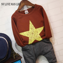 2-7Y Boys thick T-shirt Kids Tees Baby Boy brand t shirts Children tees Long Sleeve 100% Cotton cardigan sweater jacket shirts