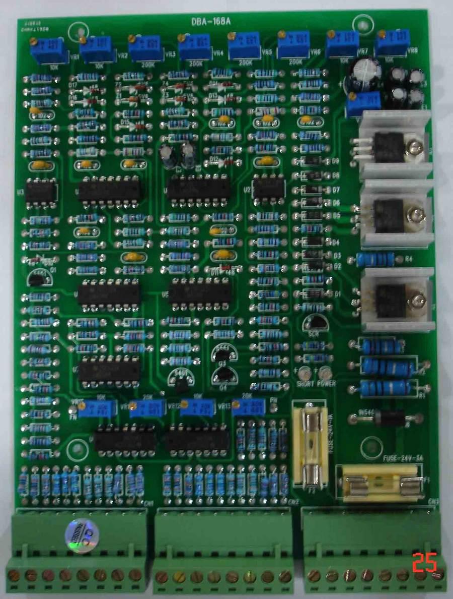ФОТО DBA-168A Double Channel  Pulse ratio amplifier board scale amplifier. Proportional valve amplifier