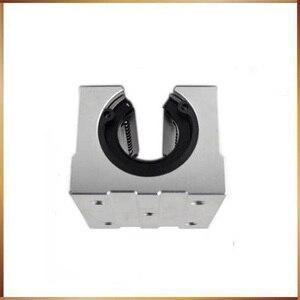 Image 2 - Sbr16 Бесплатная доставка SBR16 SBR16UU 16 мм линейный Шарикоподшипниковый блок CNC маршрутизатор