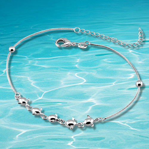 2014 brand new solid genuine 925 sterling silver anklet,foot jewelry,leg bracelet retail