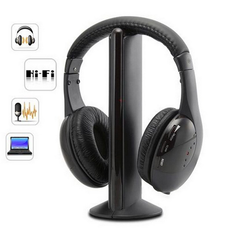 Vwar Bluetooth Headphones Wireless Stereo Headsets earbuds with Mic for Desk or Notebook Computer iPhone Samsung Xiaomi