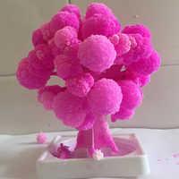 2019 90mm H ThumbsUp!Magic Japanese Sakura Tree Desktop Cherry Blossom-Brand Hot Made in Japan Pink Mystic Paper Trees Baby Toys