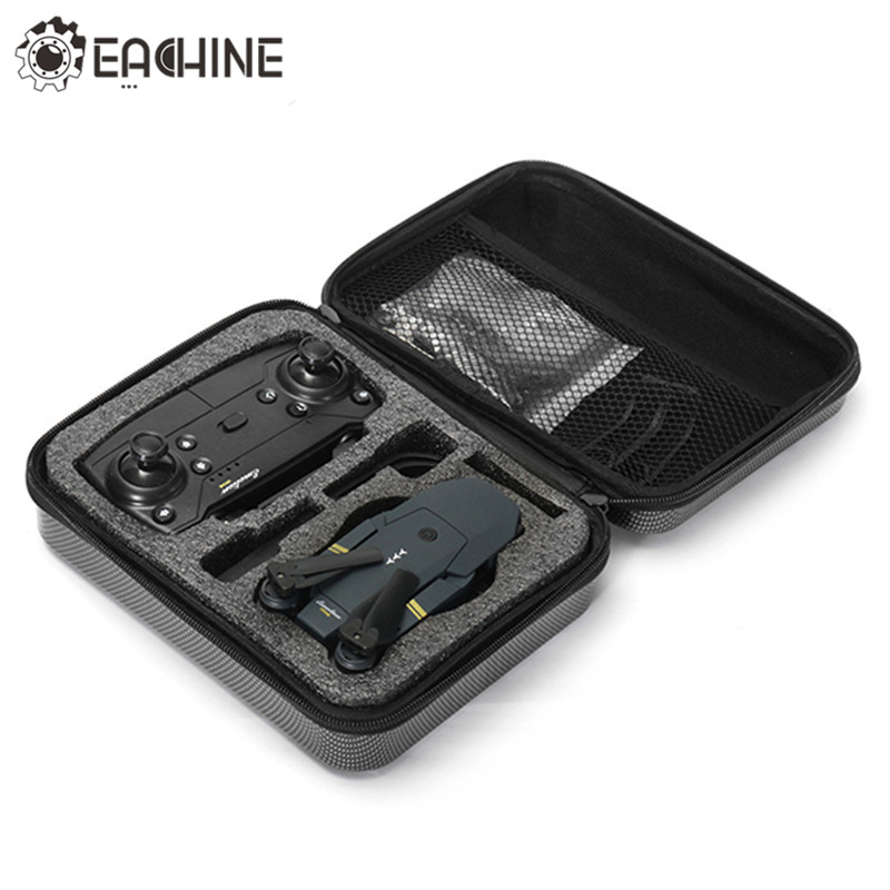 Eachine E58 RC Drone Quadcopter Spare Parts Hard Shell Waterproof Carrying Case Storage Box Handbag for FPV Racing Drones 1pc drone spare parts portable handbag hard case carrying storage bag protector eva for gopro karma g6 gimbal stabilitzer