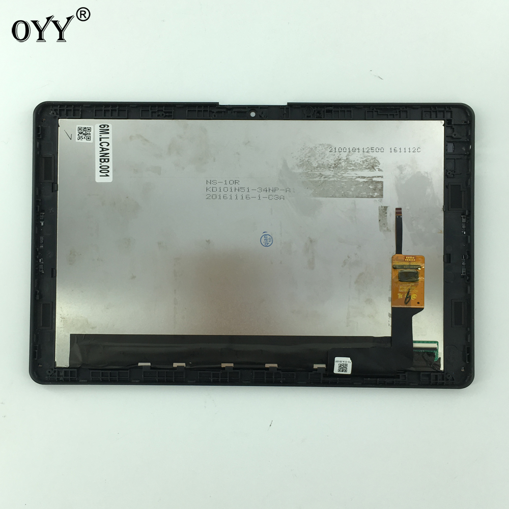 LCD Full Display Touch Screen Digitizer Assembly pezzi di Ricambio telaio 10.1