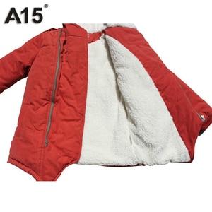 Image 4 - ילדי מעילי חורף ומעילי סתיו Jacket עבור בנים עם ברדס חם מעיילים קטיפה כותנה מעילים בגדי ילדים גיל 4 6 8 10 12 שנה