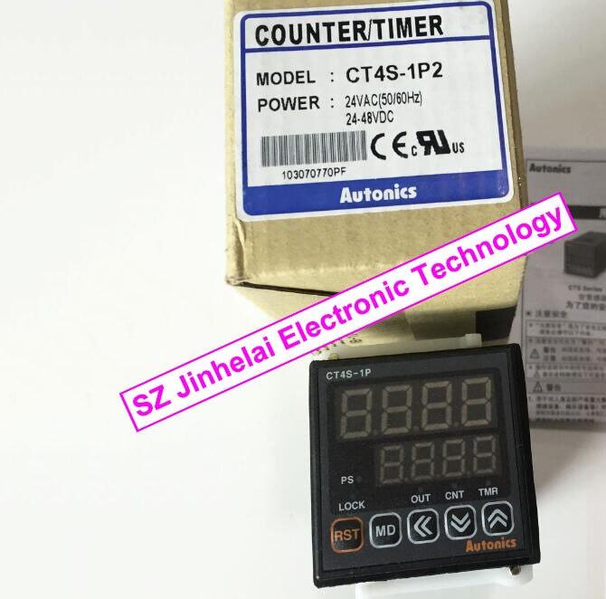 100%Authentic original CT4S-1P2(CT4S) AUTONICS Count relay 24VAC 24-48VDC цены