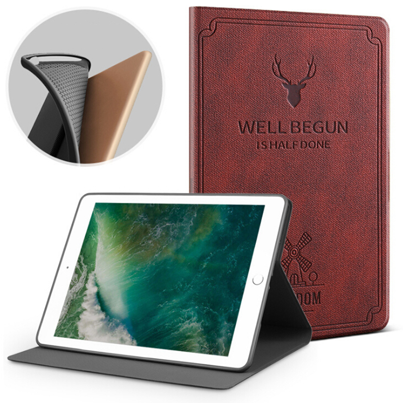Из искусственной кожи Подставка для планшета Smart защитный чехол для Apple Ipad Mini 1 2 3 авто сна/Пробуждение чехол совместим Для Ipad Mini 1/2/3