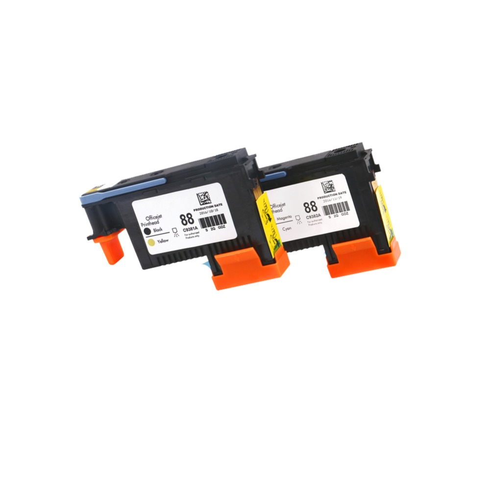 for HP88 Cartridges Printhead C9381A C9382A for HP K550 K5400 K8600 L7000 L7480 L7550 L7580 L7590 L7650 L7680 L7710 L7750 L7780 картридж hp c9396ae для hp k550 pro k5400 pro k8600 pro l7480 pro l7580 pro l7590 pro l7680 pro l7780 pro черный