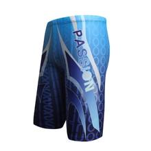Boys Swim Trunks Waterproof Quick Dry Bathing Suit Man Diving Long Swimsuit Boxer Briefs Gay Beach Shorts Wear