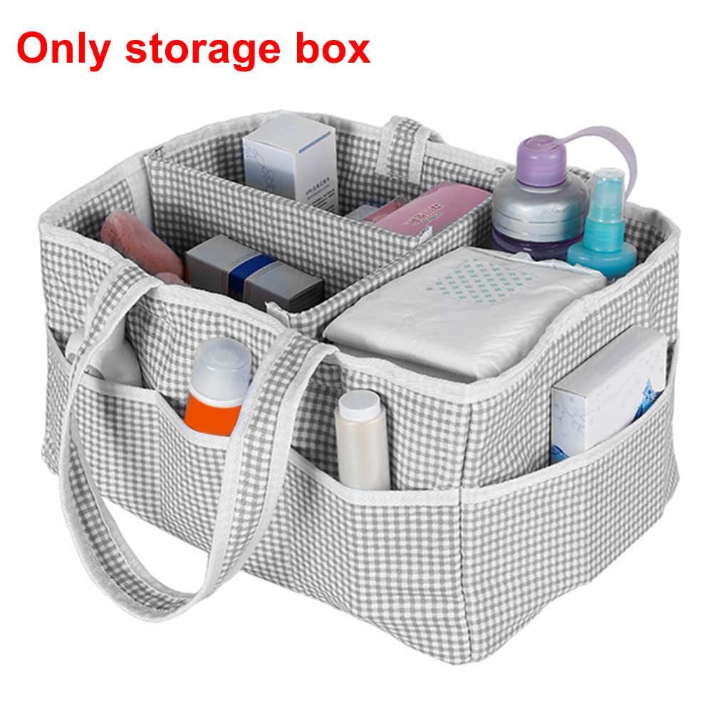 Caixa de Armazenamento Recipiente de Viagem Portátil dobrável Infantil Berçário de Cuidados Com o Bebê Tote Fralda Útil Para Casa