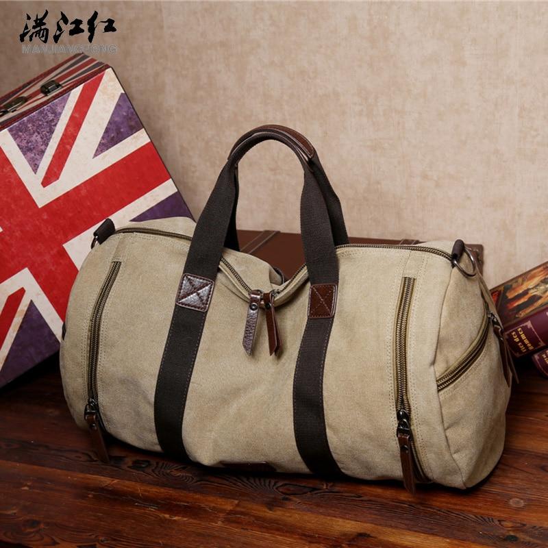 Висококачествена туристическа чанта с голям капацитет за мъже, Европа и стил Съединените щати с мъжката чанта с голяма рамо