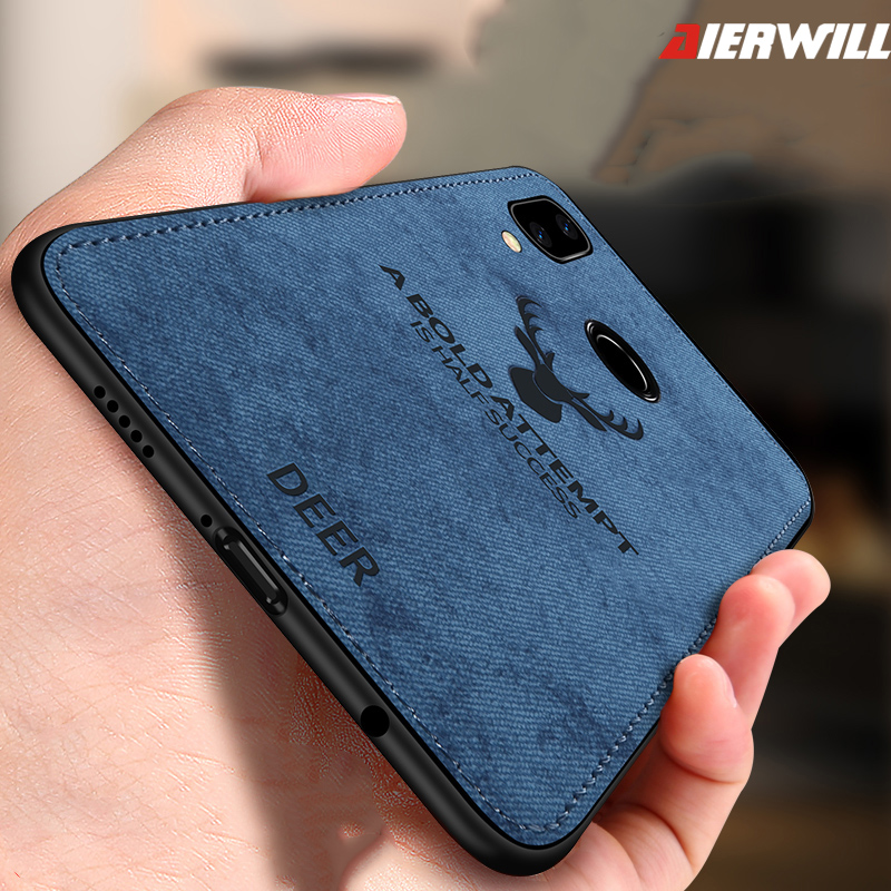 factory authentic 24515 44c7c Bumper Case For Huawei P20 Lite Case Cover P20lite Back Cover Silicone  Fabric Protective Case Coque For Huawei P20 Lite Case